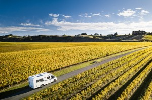 Travelling New Zealand in a campervan in Autumn